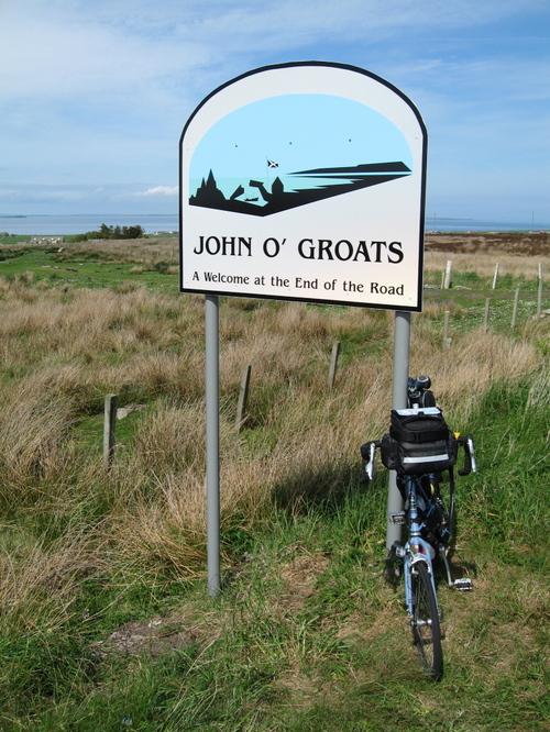 The classy John o'Groats