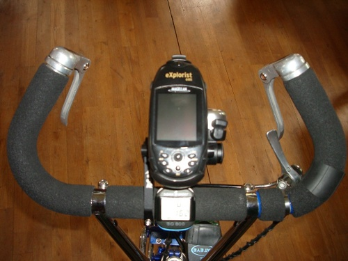 GPS in place